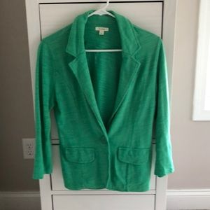 Caslon blazer Kelly green